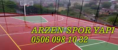 Basketbol Sahası Yapımı