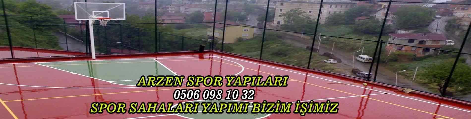 basketbol sahası yapım firması