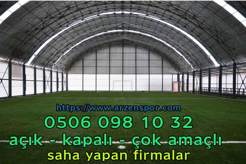 trapez alüminyum çatı kaplama halı saha